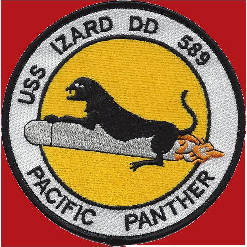 USS Izard (DD-589)