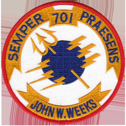 USS John W. Weeks (DD-701)