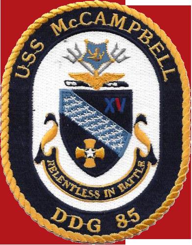 USS McCampbell (DDG-85)