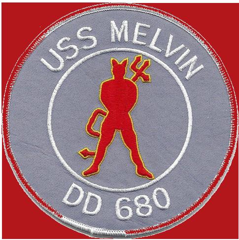 USS Melvin (DD-680)