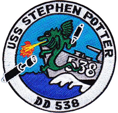 USS Stephen Potter (DD-538)