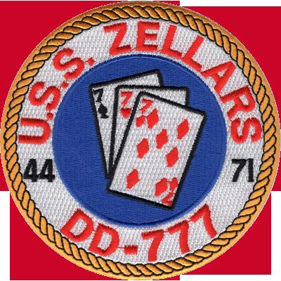 USS Zellars (DD-777)