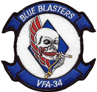 VFA-34 Blue Blasters