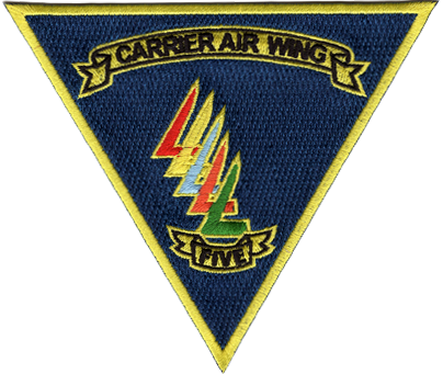 Commander Carrier Air Wing 5 (CVW-5), Commander, Naval Air Force, U.S. Pacific Fleet (COMNAVAIRPAC)