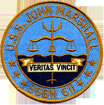 USS John Marshall (SSBN-611)