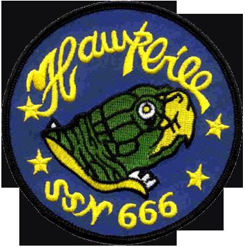USS Hawkbill (SSN-666)