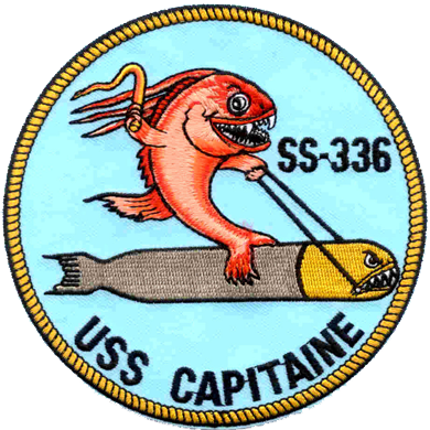 USS Capitaine (SS-336)