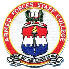 Joint Forces Staff College/Armed Forces Staff College (Faculty Staff)