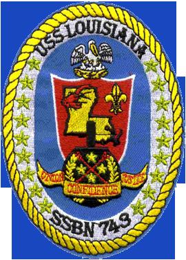 USS Louisiana (SSBN-743)