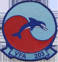 VA-203 Blue Dolphins