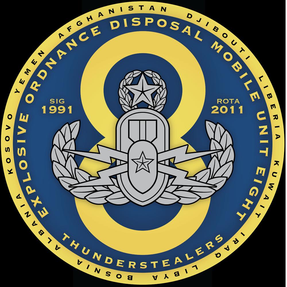 EOD Mobile Unit 8 (EODMU 8), Explosive Ordnance Disposal  Group 2 (EODGRU 2)