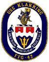 USS Klakring (FFG-42)