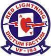 VF-194 Red Lightning - Yellow Devils