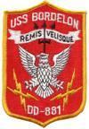 USS Bordelon (DD-881)