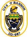 USS O'Bannon (DD-987)