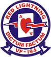 VF-194 Red Lightning - Yellow Devils