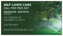 B&P Lawn Care