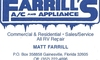 Farrills A/C and Appliance