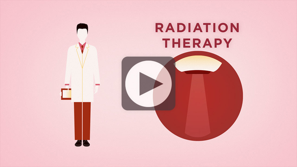 Treatment for breast cancer using radiation