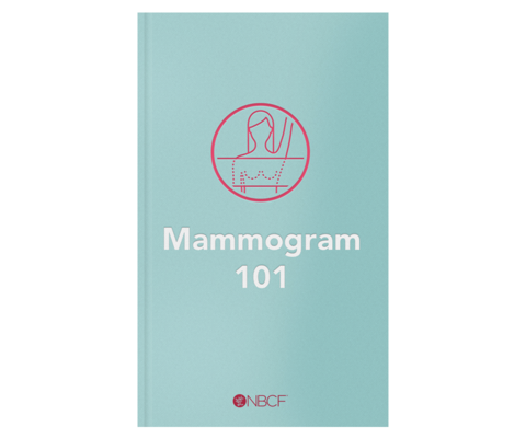 Mammogram 101, a free eBook that guides you through the process of getting a mammogram for breast cancer screening.