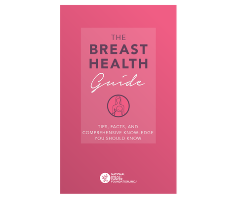 The Breast Health Guide: Tips, Facts, & Comprehensive Knowledge You Should Know. A free eBook about breast cancer prevention.