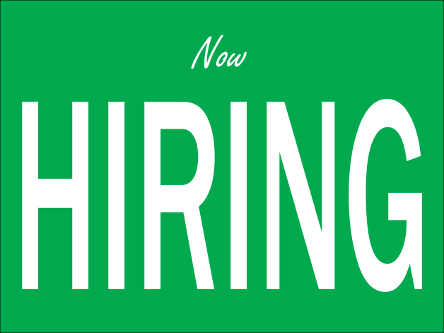 NOW HIRING Sign | SpellBrite LED - better than Neon |Now Hiring Sign Ideas