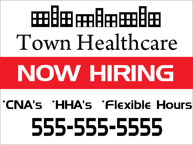 Ideas to create an amazing 'Now Hiring' sign | Workable |Now Hiring Sign Ideas