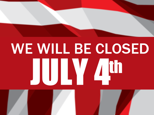 closed 4th of july template