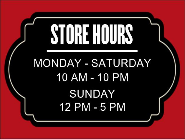 Store Hours Template Under Bergdorfbib Co
