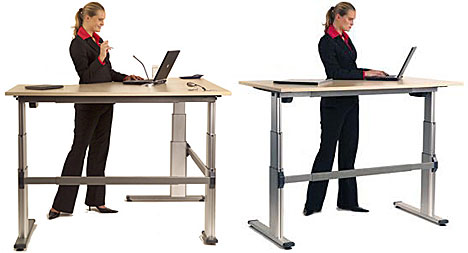 Standing tables don t work bicycledesk - Table basse escamotable stand up ...