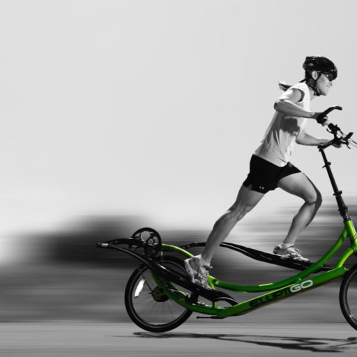 outdoor elliptical bike