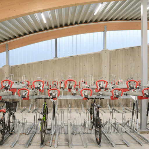 Bicycle Hotel - Lillestrom - Indoor - Bike Parking