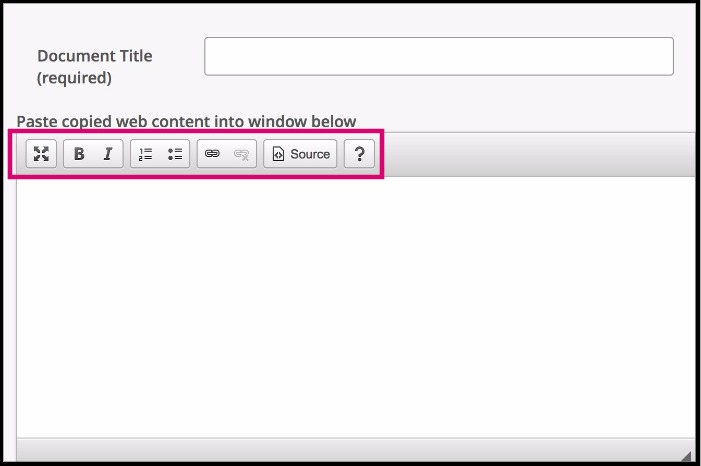 Data Entry Window Editing Controls