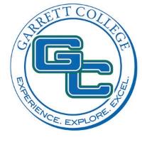 Garrett College logo