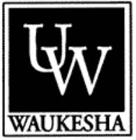 University of Wisconsin - Waukesha logo