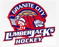 NA3HL (Tier III) - Granite City Lumberjacks (Junior Hockey) logo