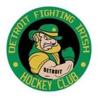 USPHL Premier (Tier III) - Detroit Fighting Irish (Junior Hockey) logo