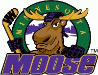 USPHL Premier (Tier III) - Minnesota Moose (Junior Hockey) logo