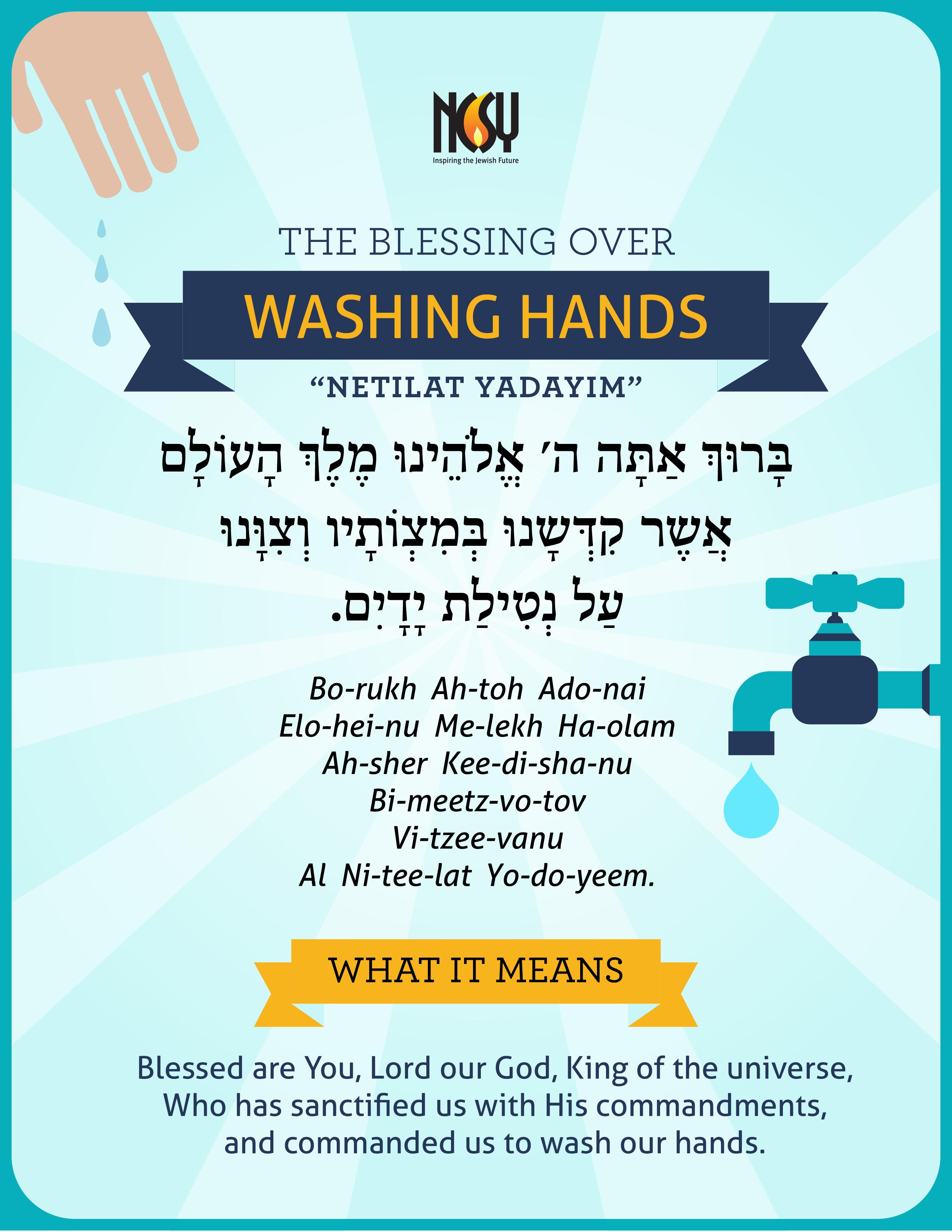 How to Perform Netilat Yadayim