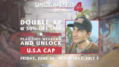 Uncharted 4 Multiplayer: Double XP + 50% Off Sale Until July 5