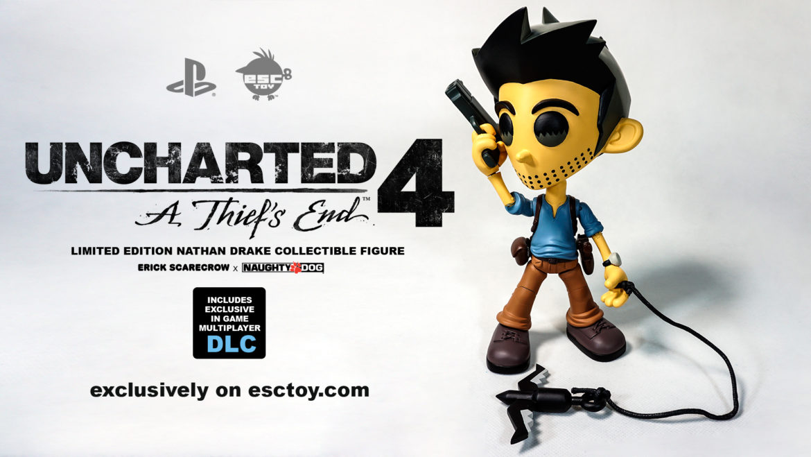 Naughty Dog X Erick Scarecrow Uncharted 4 Limited Edition Figure