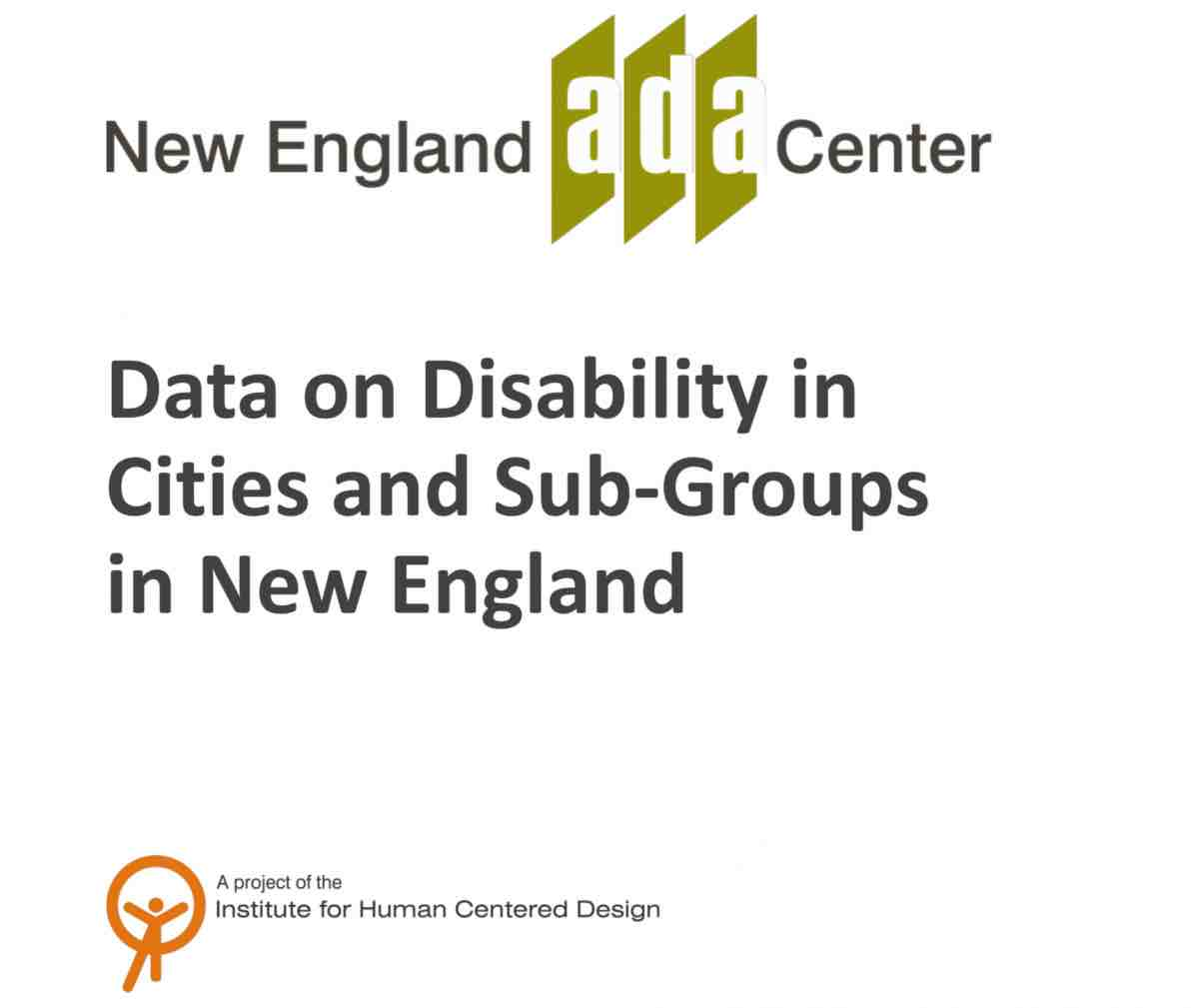 Data on Disabilities in Cities cover