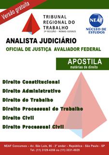 Oficial de Justiça Avaliador Federal
