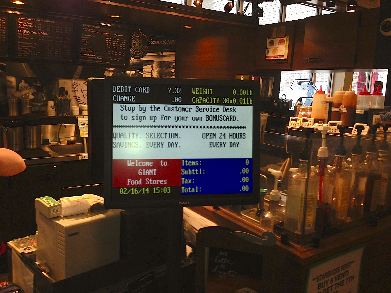 Cash Register Screen as a Replacement for Digital Receipts