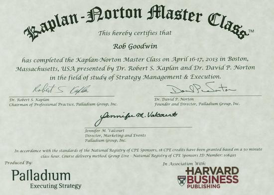 Kaplan-Norton