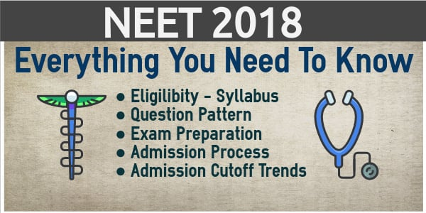 NEET 2018 Everything You Need to Know