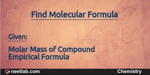 How To Find Molecular Formula