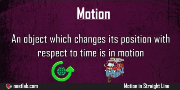 What Is Motion Understanding Motion Straight Line Explanation