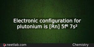 revise electronic configuration of elements