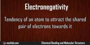Electronegativity Chemical Bonding And Molecular Structure Explanation